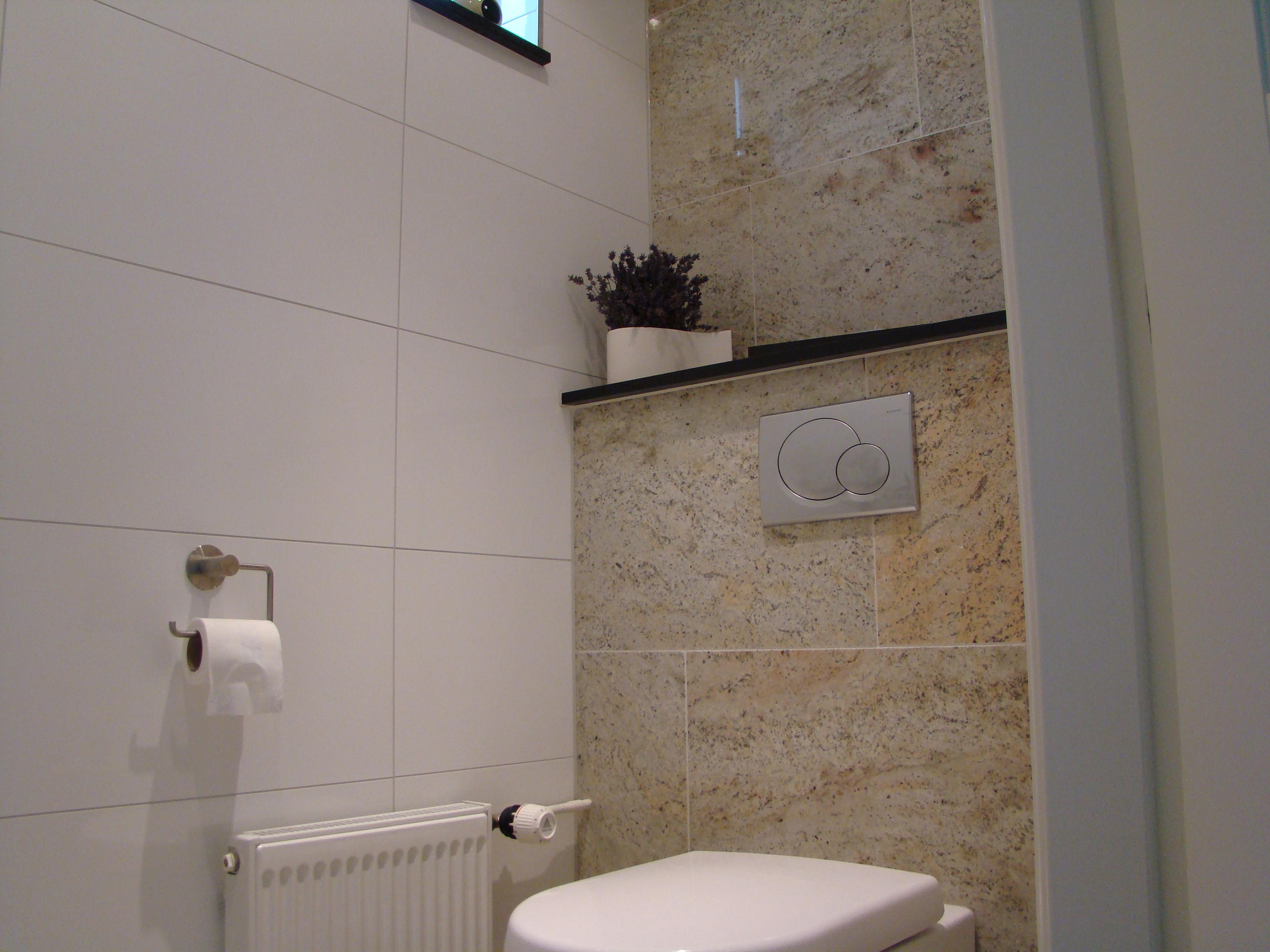 Badkamer en toilet betegelen